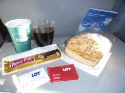 Фото еды LOT Polish Airlines №1